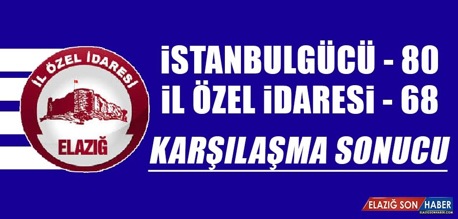 İstanbulgücü: 80 - 68 İl Özel idaresi