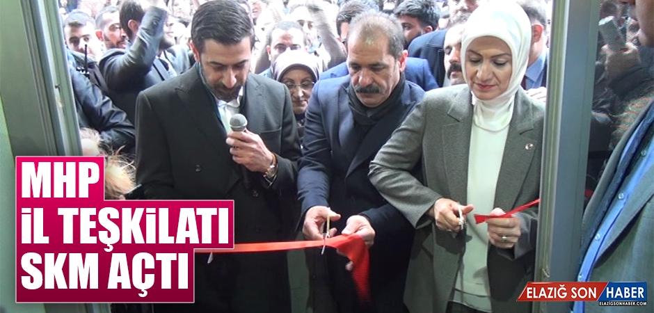 MHP, Vali Fahribey Caddesi'nde SKM Açtı