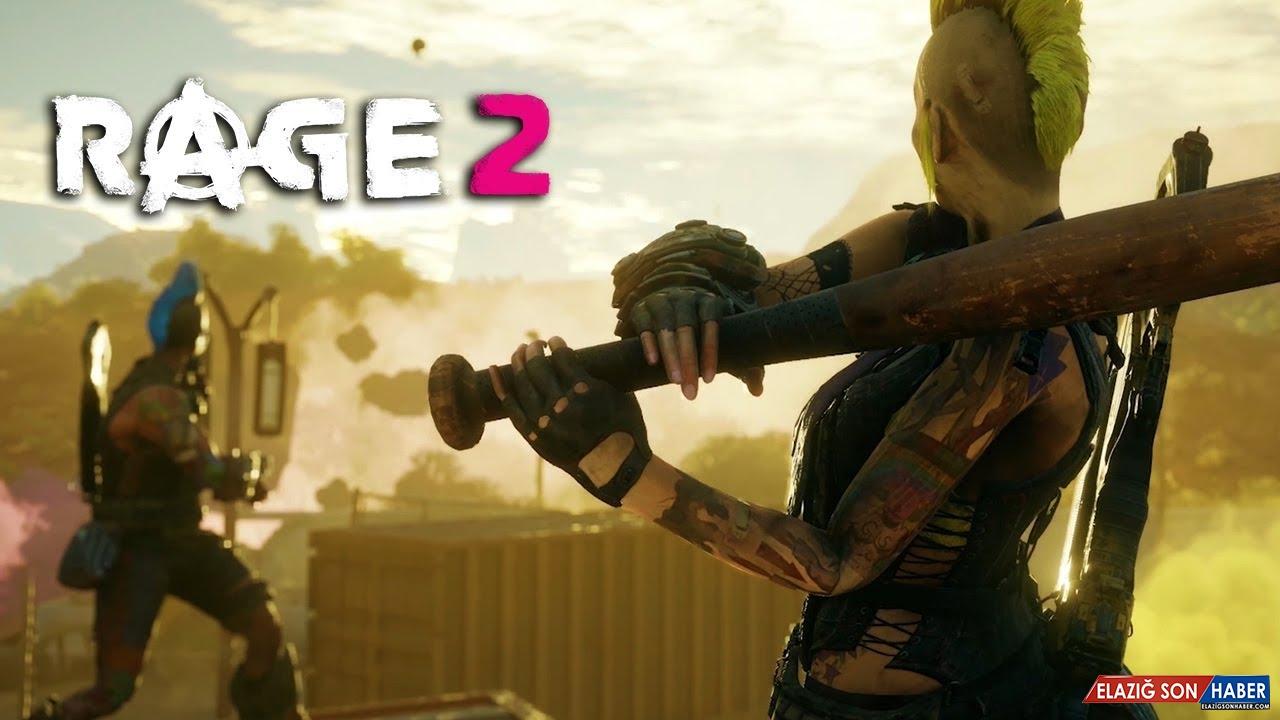 RAGE 2'nin Aklınızı Başınızdan Alacak 9 Dakikalık Oynanış Videosu