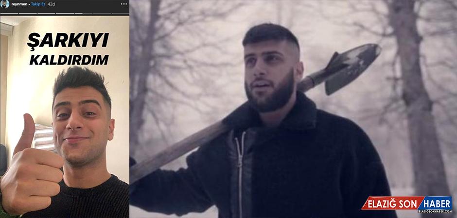 Reynmen Rekor Kıran Derdim Olsun Şarkısını YouTube'dan Kaldırdı