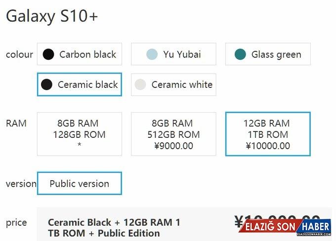 Samsung Galaxy S10+'ın Böbrek Sattıracak Fiyatı Ortaya Çıktı