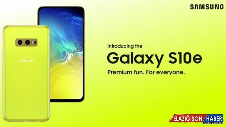 Samsung'un Gözlerinizi Kanatacak Resmi Galaxy S10e Posteri