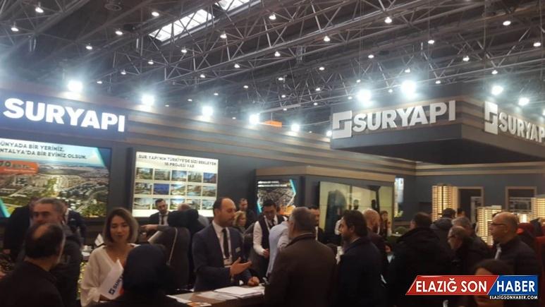 Sur Yapı, Evim Türkiye Fuarı'nda 250 milyon liralık satış görüşmesi yaptı