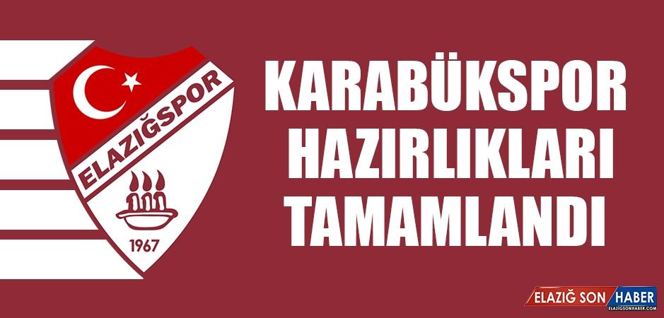 Tetiş Yapı Elazığspor'da Karabükspor Hazırlıkları Tamamlandı