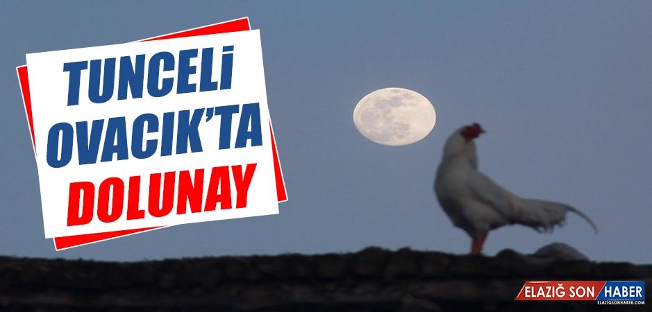 Tunceli Ovacık'ta Dolunay