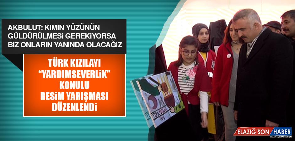 """Türk Kızılayı """"Yardımseverlik"""" Konulu Resim Yarışması Düzenlendi"""