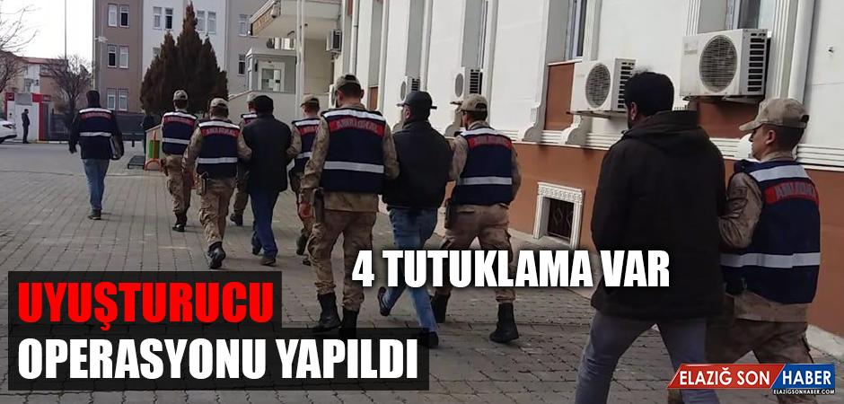 Uyuşturucu Operasyonu Yapıldı, 4 Tutuklama Var