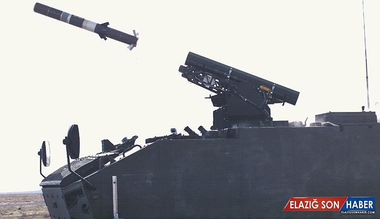 Yerli OMTAS Füzeler, Tanksavar Kulelerine Yerleştirildi