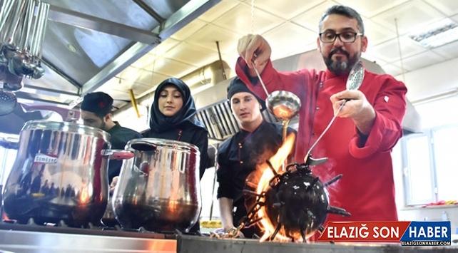 Adıyamanlı öğrenciler Osmanlı saray mutfağını günümüze taşıyor