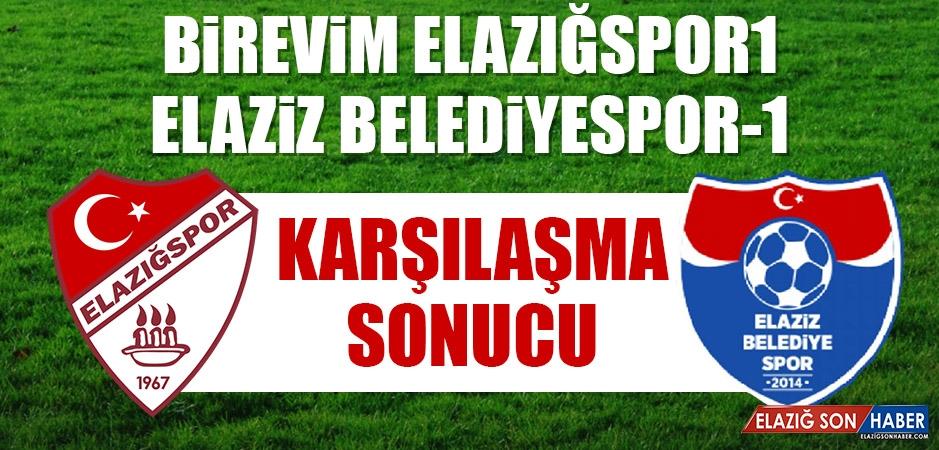 Birevim Elazığspor 1-1 Elaziz Belediyespor