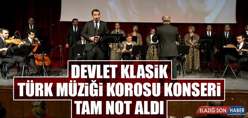 Devlet Klasik Türk Müziği Korosu Konseri Tam Not Aldı