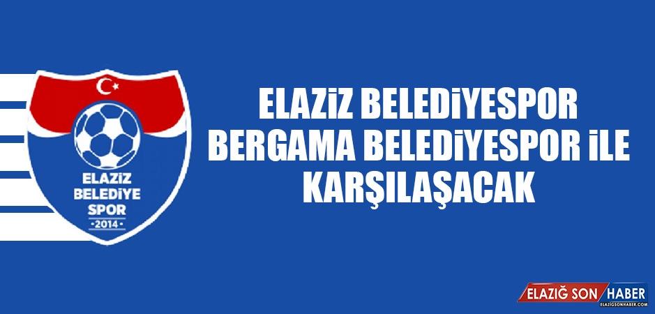 Elaziz Belediyespor, Bergama Belediyespor İle Karşılaşacak