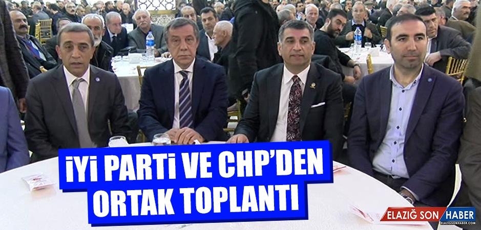 İYİ Parti ve CHP'den Ortak Toplantı