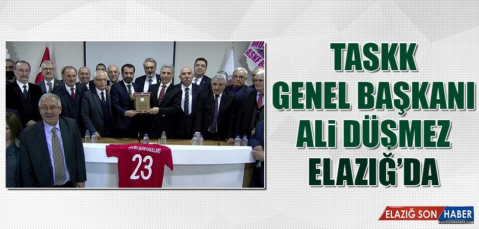 TASKK Genel Başkanı Ali Düşmez Elazığ'da