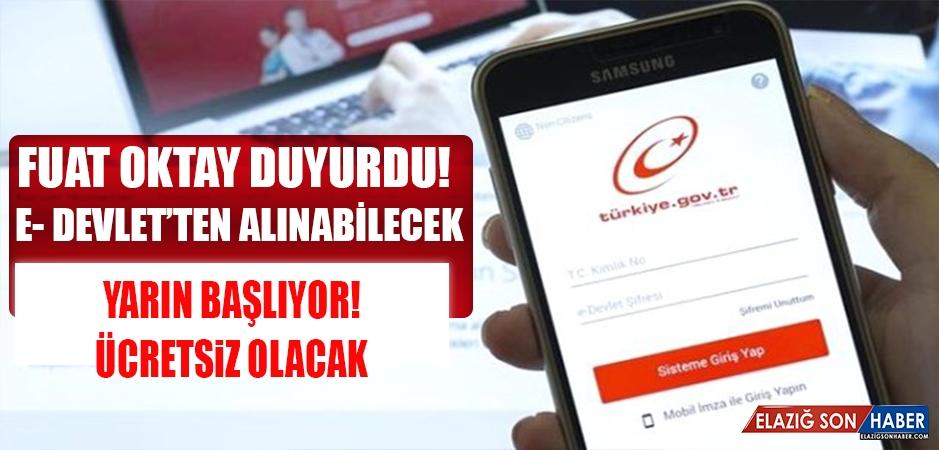 Türkiye Bankalar Birliği Risk Merkezi Raporu, Yarından İtibaren E-Devlet'ten Ücretsiz Alınacak
