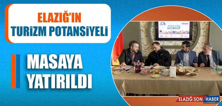 Elazığ'ın Turizm Potansiyeli Masaya Yatırıldı