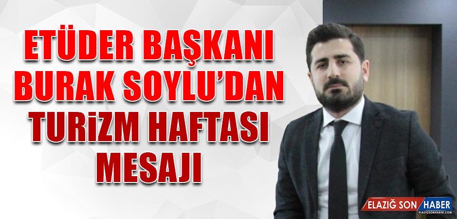 ETÜDER Başkanı Burak Soylu'dan Turizm Haftası Mesajı