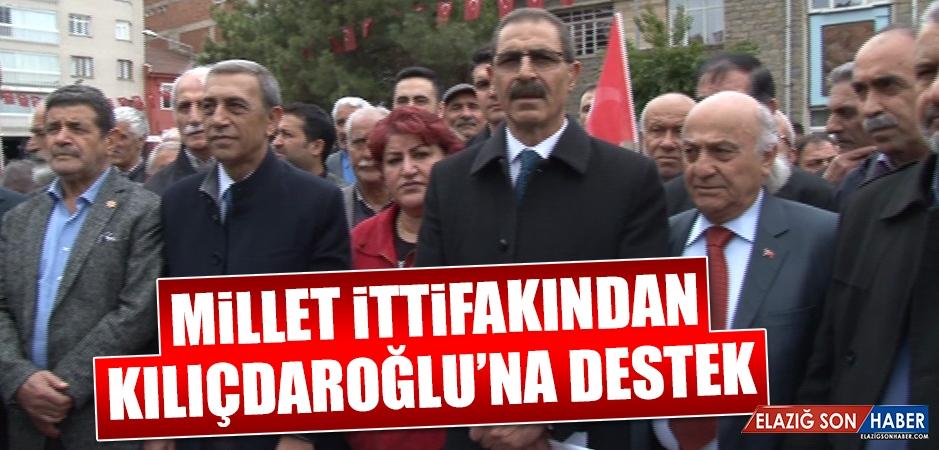 Millet İttifakından Kılıçdaroğlu'na Destek