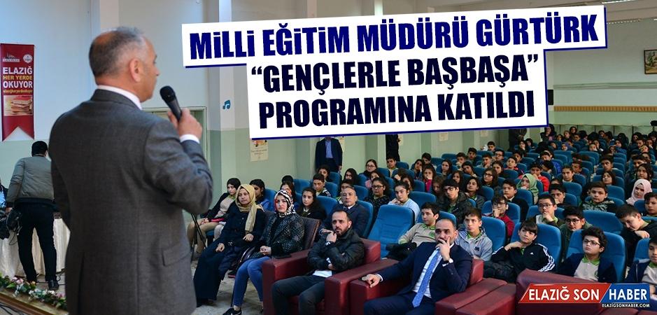 """Müdür Gürtürk """"Gençlerle Başbaşa"""" Programına Katıldı"""
