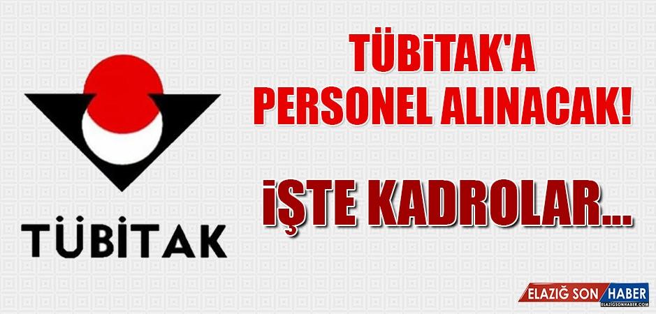 TÜBİTAK'a Personel Alınacak!