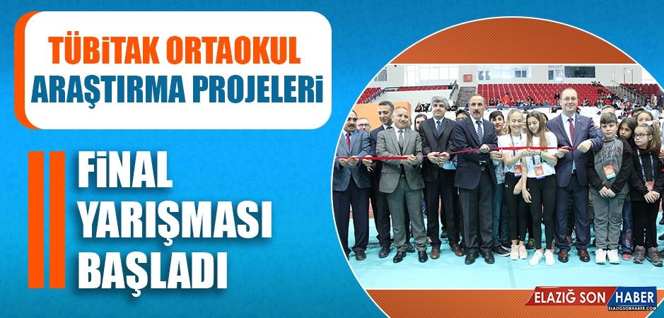 """""""TÜBİTAK Ortaokul Araştırma Projeleri Final Yarışması"""" Başladı"""