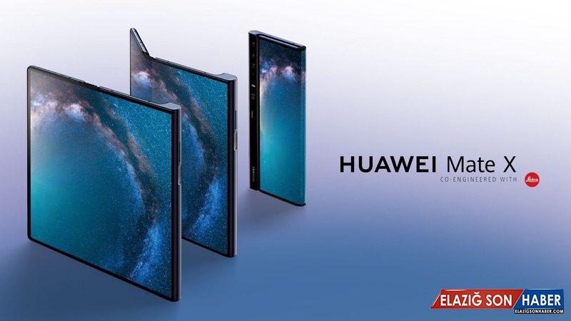 ABD Yasağından Sonra Katlanabilir Telefon Huawei Mate X Ne Alemde?