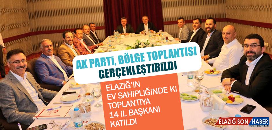 AK Parti, Bölge Toplantısı Gerçekleştirildi