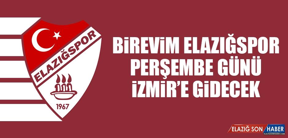 Birevim Elazığspor, Perşembe Günü İzmir'e Gidecek