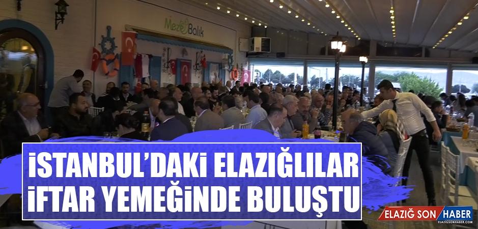 İstanbul'daki Elazığlılar, İftar Yemeğinde Buluştu