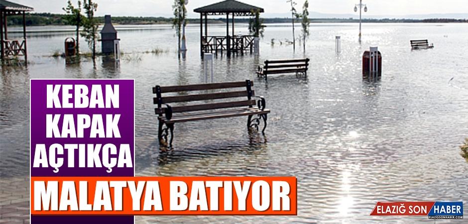 Keban Barajı Kapaklarını Açtıkça, Malatya Batıyor