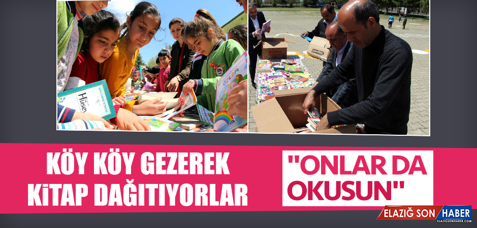 Köy Köy Gezerek, Kitap Dağıtıyorlar
