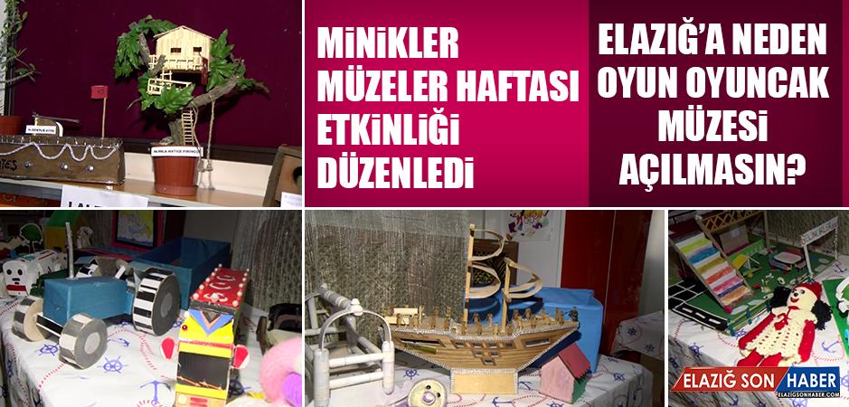 Minikler Müzeler Haftası Etkinliği Düzenledi