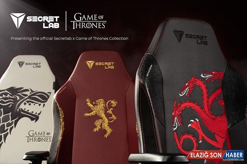 Oyun Tahtları: Game of Thrones'un Oyuncu Sandalyeleri Çıktı