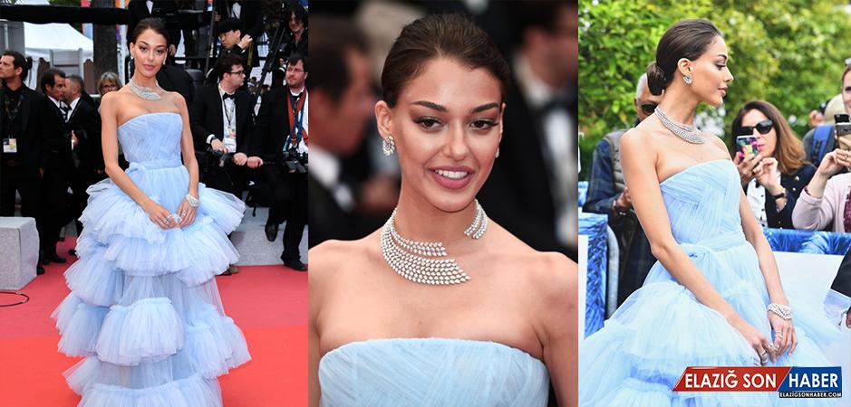 Oyuncu Dilan Çiçek Deniz, Cannes Film Festivali'nde 800 Bin Euro'luk Mücevher Taktı