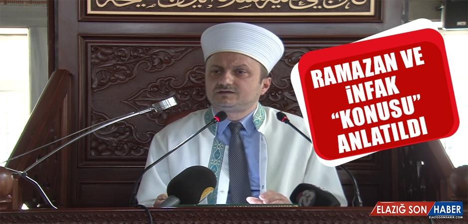 """""""Ramazan ve İnfak """" Konusu Anlatıldı"""