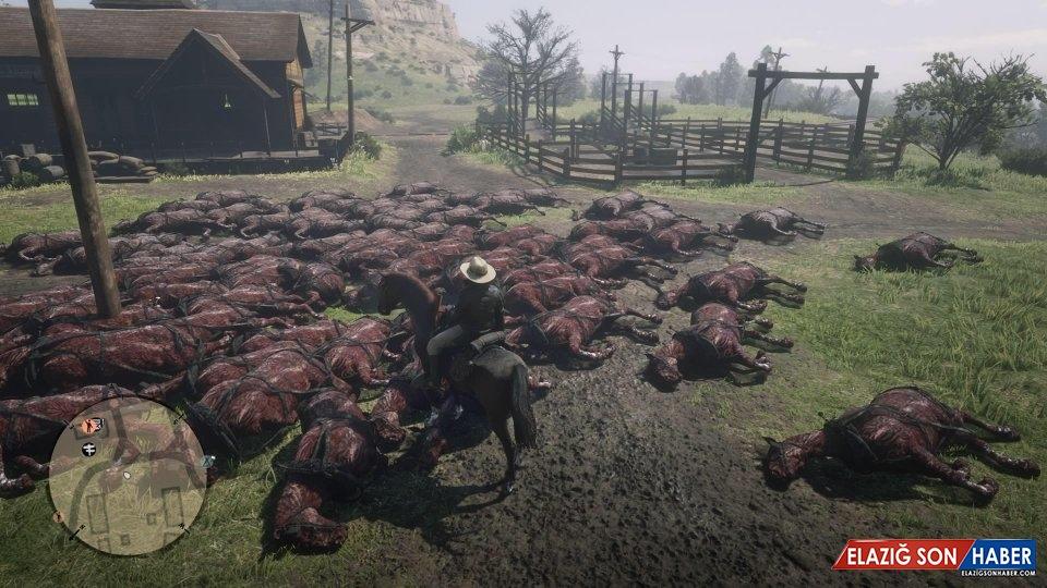 Red Dead Online'da Oyuncuları Şaşırtan Hata: Ölü At Yığınları