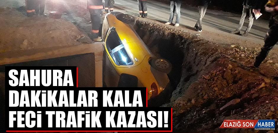 Sahura Dakikalar Kala Feci Trafik Kazası!