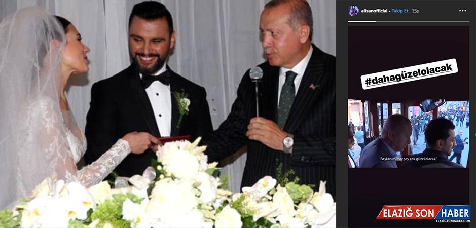 """Şarkıcı Alişan, """"Daha Güzel Olacak"""" Paylaşımıyla Erdoğan'a Destek Oldu"""