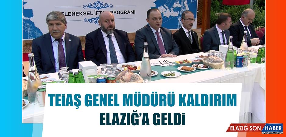 TEİAŞ Genel Müdürü Kaldırım, Elazığ'a Geldi