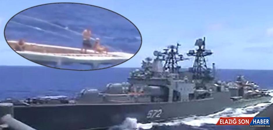 ABD ve Rusya arasında neredeyse savaş çıkıyordu! Pasifik'teki görüntülerde dikkat çeken detay