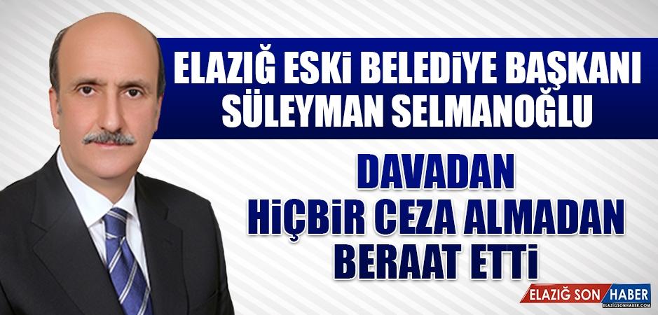 Eski Belediye Başkanı Selmanoğlu İle Birlikte 6 Kişi Beraat Etti