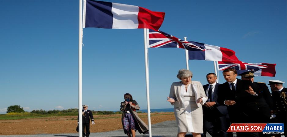 Fransa'da Normandiya Çıkarması'nın 75. yıl dönümü töreni