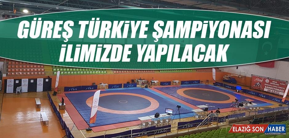 Güreş Türkiye Şampiyonası İlimizde Yapılacak