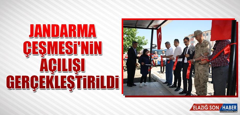 Jandarma Çeşmesi'nin Açılışı Gerçekleştirildi