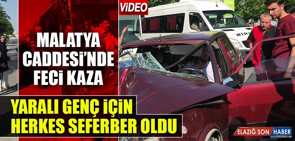 Kaza Yapan Sürücü İçin Herkes Seferber Oldu