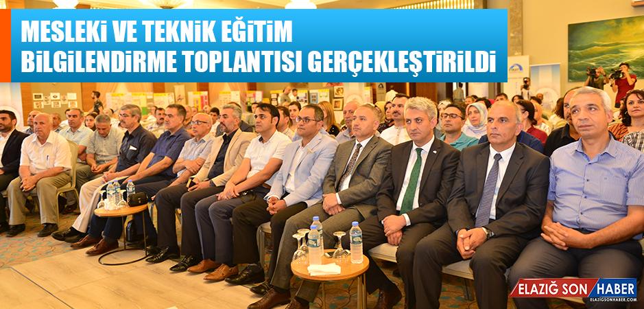 Mesleki ve Teknik Eğitim Bilgilendirme Toplantısı Gerçekleştirildi