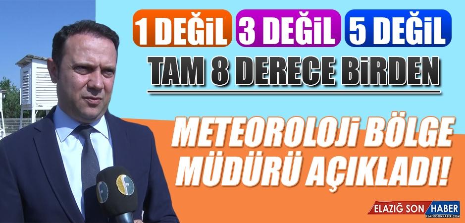 Meteoroloji Bölge Müdürü Erdoğan Elazığlıları Uyardı