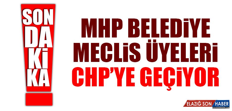 MHP BELEDİYE MECLİS ÜYELERİ CHP'YE GEÇİYOR