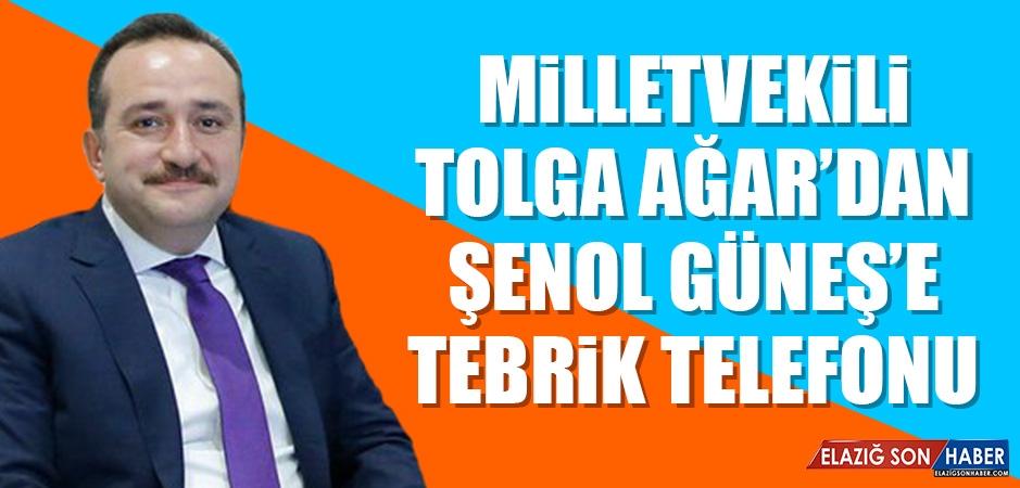 Milletvekili Ağar'dan Şenol Güneş'e Tebrik Telefonu