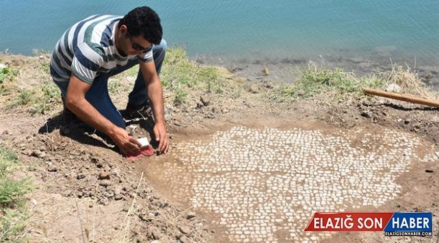 Adıyaman'da milattan sonra 6. yüzyıla ait mozaik bulundu